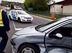 """""""Kiüttette"""" magát a Peugeot Nyékládházán, ketten megsérültek - boon.hu"""