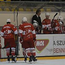 DVTK Jegesmedvék - Belgrád jégkorong meccs - boon.hu