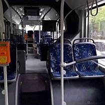 Fékezés után esett el a buszon Miskolcon - boon.hu