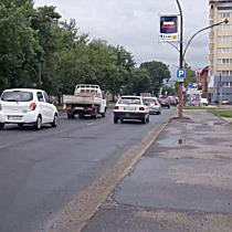 Reggeli forgalom a József Attila utcán Miskolcon II. - boon.hu