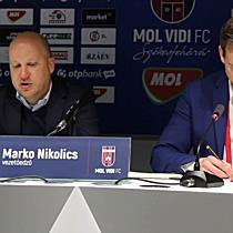 MOL Vidi vs. DVTK 18/19, Marko Nikolic értékelése - boon.hu