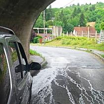Falnak lökte a Suzukit Miskolcon - boon.hu