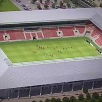 A DVTK Stadion látványterve - boon.hu