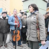 Demonstráció Miskolcon, a Hermannál I. - boon.hu