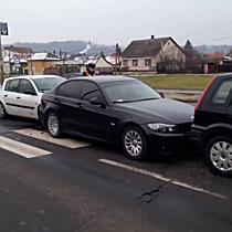 Három autót tolt össze a negyedik Audi Miskolcon - boon.hu