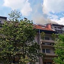 Tűz Miskolc belvárosában I. - boon.hu