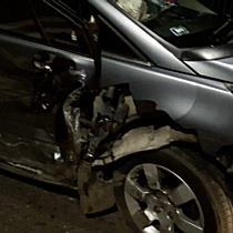 Ütközés után borult fel egy Peugeot Miskolcon - boon.hu