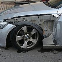 Kiüttette magát a BMW-s Miskolcon - boon.hu