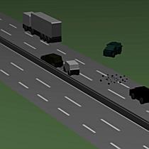 Animáción a geleji tragédia – Így ütközhettek a járművek az M3-ason - boon.hu