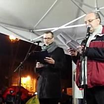 Demonstráció a Hősök terén - boon.hu