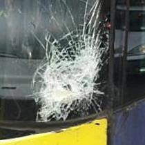 Furgon oldalát húzta meg a busz Miskolcon - boon.hu