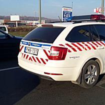 Zebránál ütközött össze két autó Miskolcon, egy ember megsérült - boon.hu