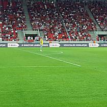 DVTK vs. Haladás focimeccs