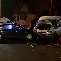 Látványos baleset Miskolcon - boon.hu
