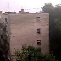 Felhőszakadás Miskolcon a Selyemréten - boon.hu
