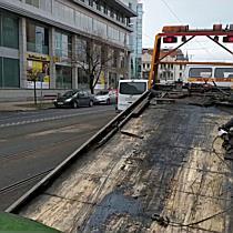 Belvárosi baleset Miskolcon