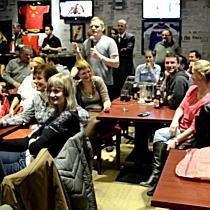 Zsúfolásig telt a Marca Sport Cafe magyar szurkolókkal - boon.hu