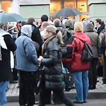 Demonstráció Miskolcon, a Hermannál II. - boon.hu