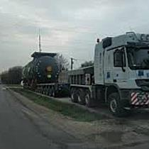 Túlméretezett jármű halad át a megyénken - boon.hu