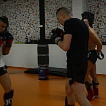 Koncz Attila és Kunkli Tivadar közös thai box edzése Miskolcon - boon.hu
