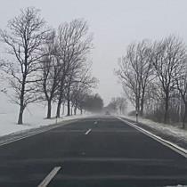 Hófúvás a 37-es főúton I. - boon.hu