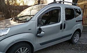 Felborult egy Fiat Miskolcon