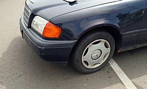 Mercedes elé hajtott egy Seat Miskolc belvárosában - boon.hu
