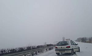 Hófúvás a 37-es főúton II. - boon.hu