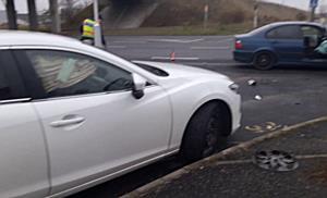 BMW ütközött Mazdával Miskolc határában - boon.hu