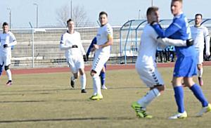 Kazincbarcika  Szolnok NB II-es focimeccs Tiszaújvárosban - boon.hu