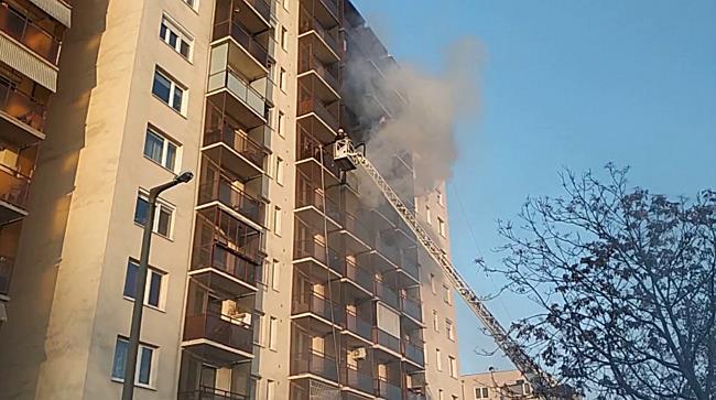 Lakástűz Miskolcon - boon.hu