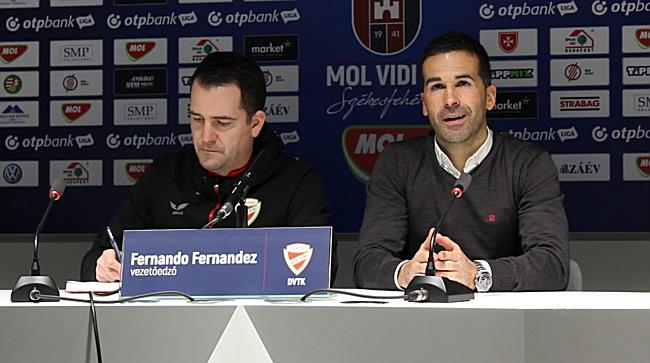 MOL Vidi vs. DVTK 18/19, Fernando Fernandez értékelése - boon.hu