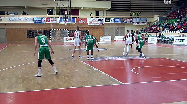 Női kosárlabda Európa Kupa - Aluinvent-DVTK vs. KP Brno 77-59 - boon.hu