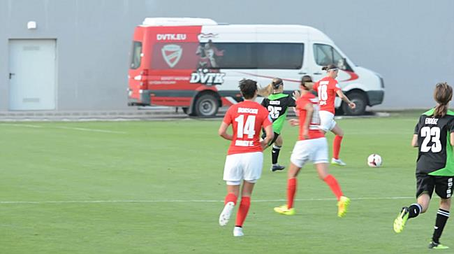 DVTK Győr NBI női focimeccs - boon.hu