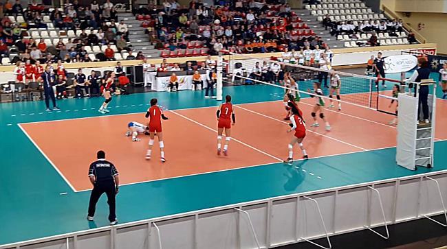 Magyarország vs. Szlovákia U17 női röplabda EB-selejtező