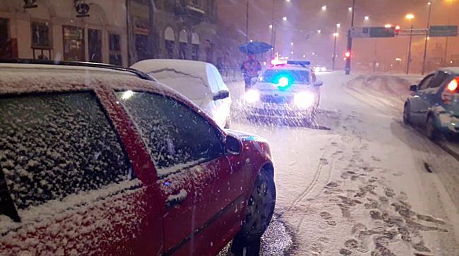 Havas úton ütköztek Miskolc belvárosában - boon.hu