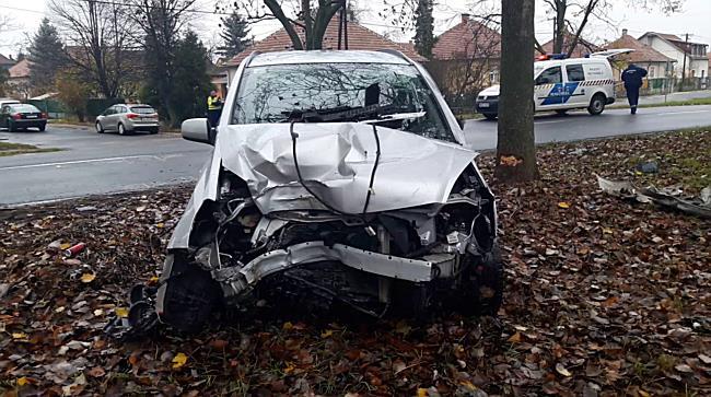 Fa állította meg az Opelt Miskolcon - boon.hu