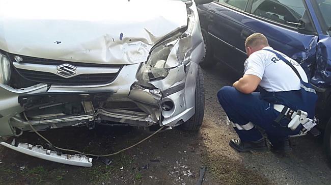 Suzukinak ütközött az Opel Szirmabesenyőben - boon.hu
