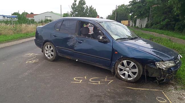 Előzés közben ütötték ki a Nissant Felsőzsolcánál - boon.hu