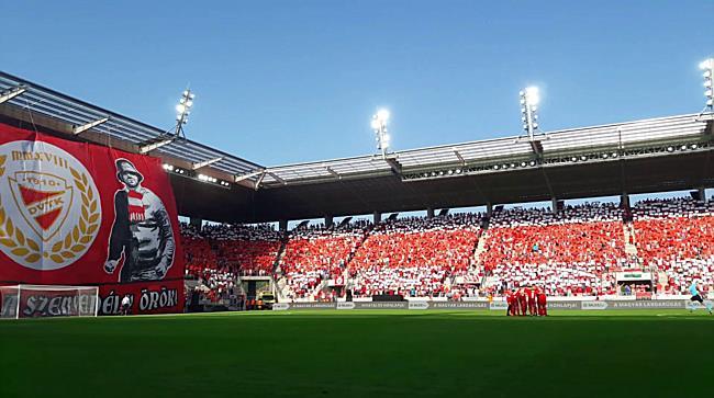 Dvtk stadion avató